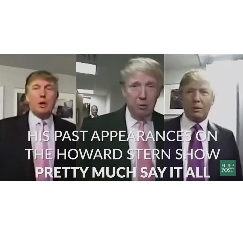 Donald Trump Snippets about Women on the Howard Stern Show